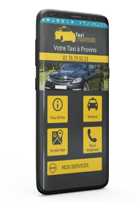 Application Android Taxi Provins